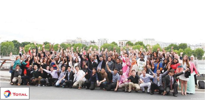 Participants of Total Summer School in Paris.