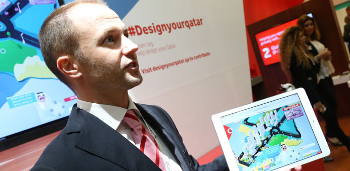 Vodafone launches a new digital platform yesterday.