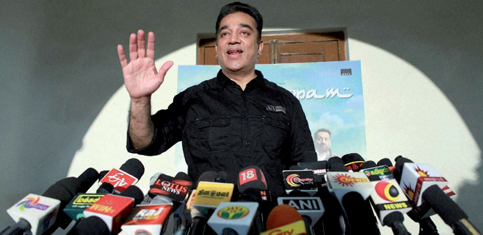 Golden run: Kamal Hassan has completed half a century in films.