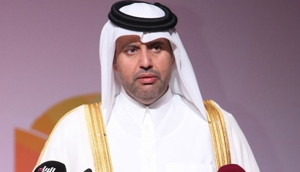 HE the Minister of Economy and Commerce Sheikh Ahmed bin Jassim bin Mohamed al-Thani