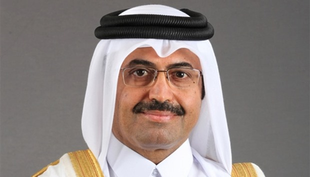 HE the Minister of Energy and Industry Dr Mohamed bin Saleh al-Sada