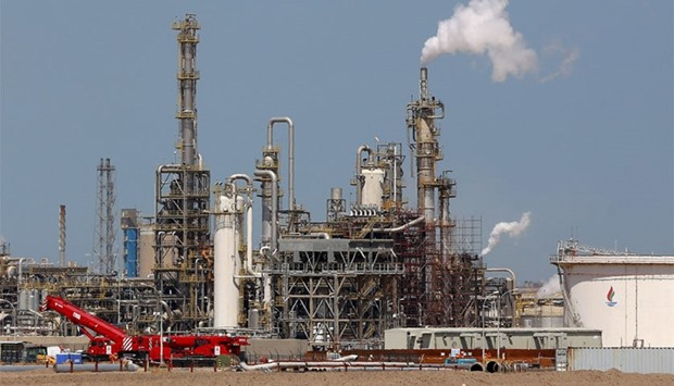 The Shuaiba oil refinery south of Kuwait City.