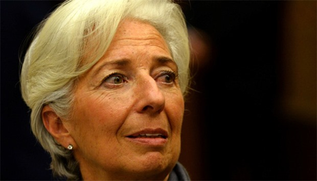 International Monetary Fund(IMF) Managing Director Christine Lagarde