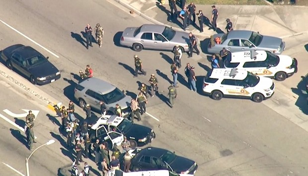 2 adults dead, 2 kids shot at California school