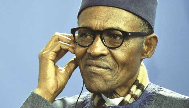 Buhari: missed the meeting 'because he asked that he be allowed to rest'.