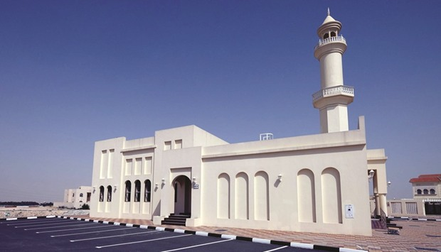 A new mosque in Umm Salal Ali.