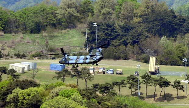 S.Korea says US reaffirms it will pay THAAD costs