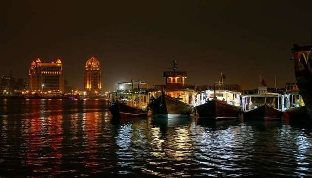 From the traditional dhow festival, Katara