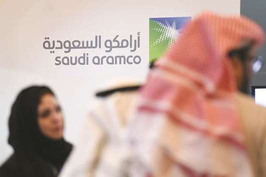 Saudi seeks oil as high as $100 'to support Aramco IPO plan'
