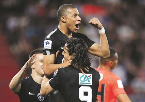 Mbappe brace as PSG seal French Cup final spot