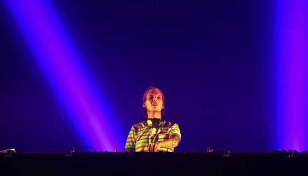 Avicii performs at the Sziget music festival on the Hajogyar Island of Budapest