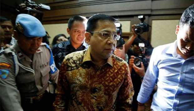 Indonesia jails former speaker of parliament 15 years over graft