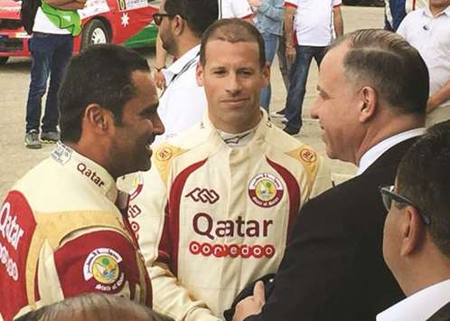 Al-Attiyah hits the ground running with fastest time