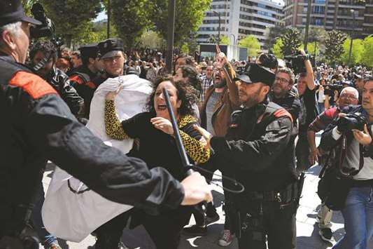 Spain court's sex attack ruling triggers protests