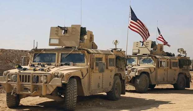 United States troops in Syria
