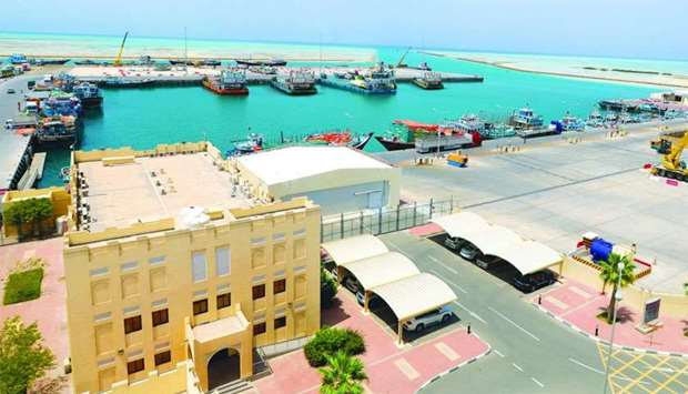 A view of the Ruwais Port. Under the new rule, Mwani Qatar 's customers will get double the previous