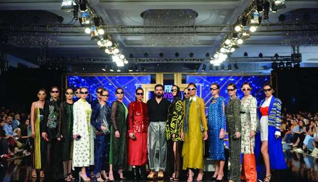 Hussain Rehar, a fine new addition to the fashion industry, showcased a boho chic collection that ca