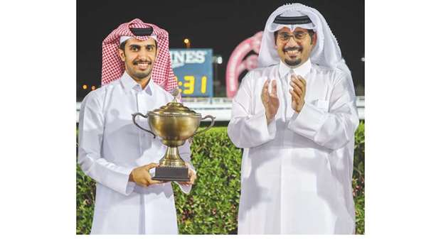 Qatar Racing and Equestrian Club CEO Nasser Sherida al-Kaabi