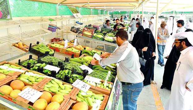 The proposed yard for local agricultural products at the Doha Central Market will be the sixth such