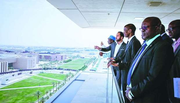 QF hosts Gambian delegation at Education City