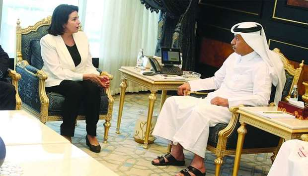 Justice Minister meets Moroccan law official