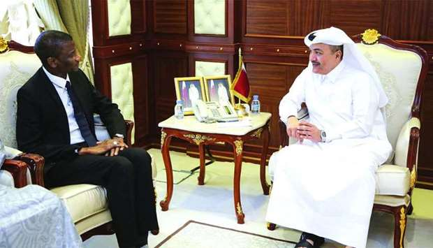 Fakhro meets Gambian minister