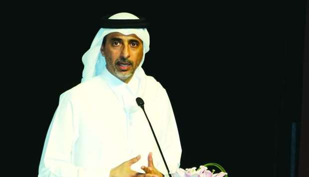 HE the Minister of Culture and Sports Salah bin Ghanem bin Nasser al-Ali announcing the the launch o