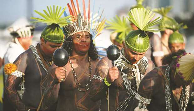 Brazil's indigenous tribes march for land rights