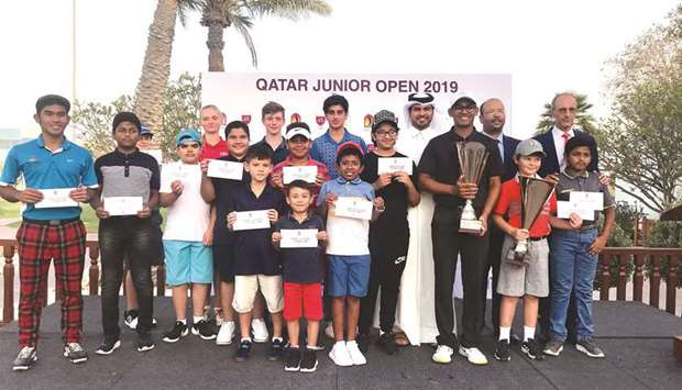 Jain wins Qatar Junior Open Golf