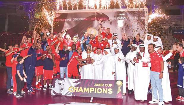 Al Arabi win Amir Cup handball