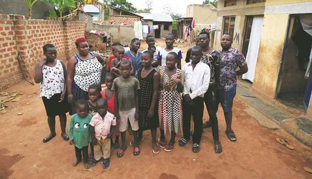 Mum of multiple quadruplets struggles to provide for 38 kids