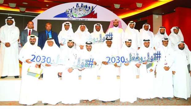 Winners of competitions with Nama officials during the valedictory ceremony of the Aspiration Achiev