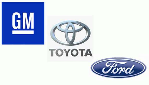 GM, Toyota and Ford
