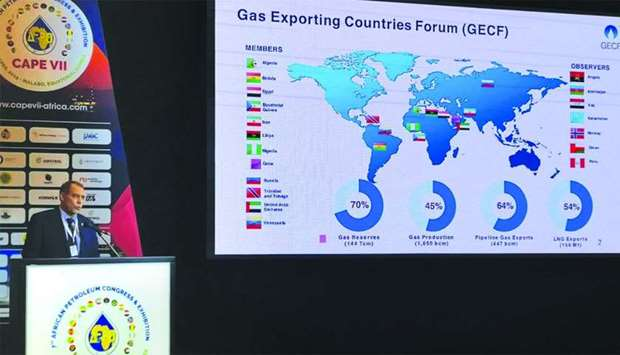 Dr Sentyurin delivering the opening address at the African Petroleum Producers Organisation CAPE VII