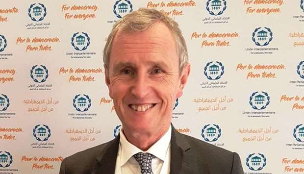 Nigel Evans at the 140th IPU Assembly in Doha. PICTURE: Joey Aguilar