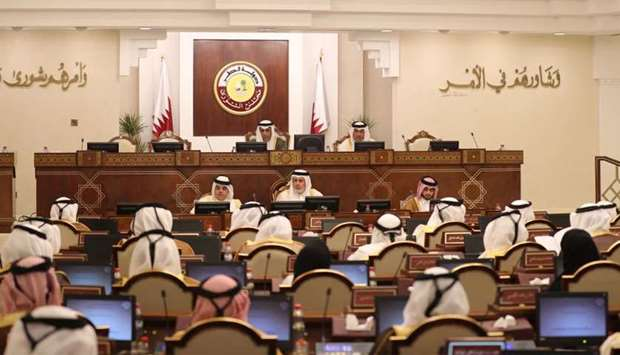The Advisory Council held its regular weekly session on Monday.