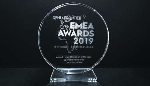 The 'EMEA Airport Retail Operation of the Year' award recognises QDF's outstanding commercial perfor
