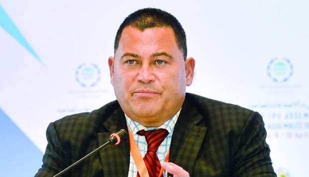 Charles Chauvel, team leader, UNDP. PICTURE: Noushad Thekkayil
