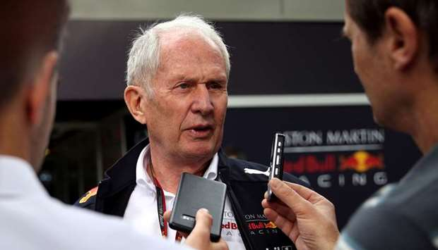 Red Bull's Marko suggested 'corona camp' for drivers