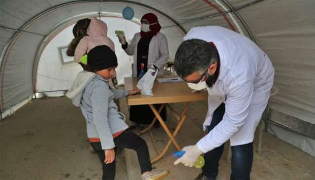 QRCS readies hospitals, care centres to tackle Covid-19 cases in Syria