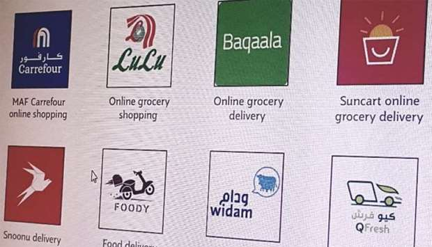 Some of the online shopping apps in Qatar