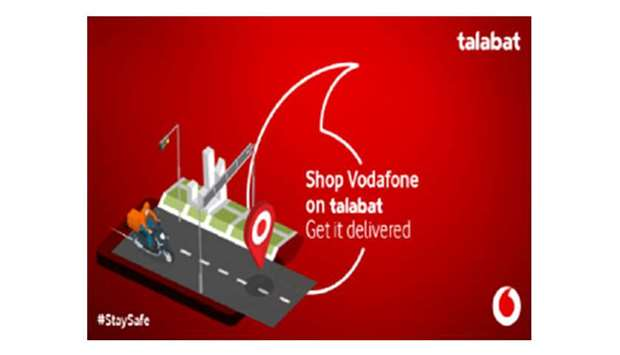 Vodafone, Talabat tie up for home delivery of products