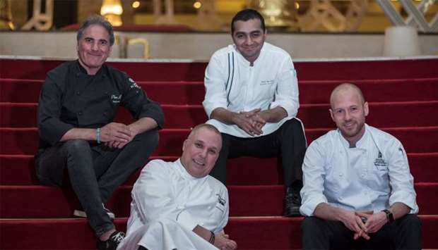 Katara Hospitality hotels has four of the best chefs in Doha