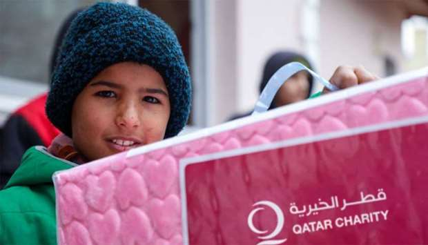 Qatar Charity and Unicef to mitigate impact of Covid-19 among vulnerable groups in Jordan and Syria
