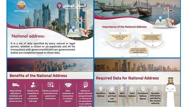 MoI urges Qataris, residents to complete National Address registration