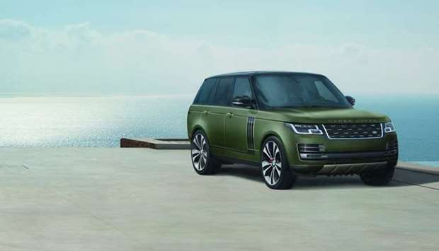 The new Range Rover SVAutobiography Ultimate editions 'represent the pinnacle of Land Rover's luxury