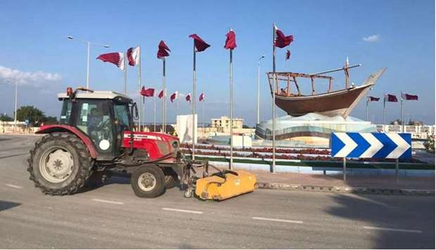 The General Cleanliness Department at the Ministry of Municipality and Environment (MME) has announc