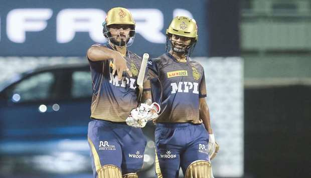 Rana, Tripathi shine in KKR's win over SRH