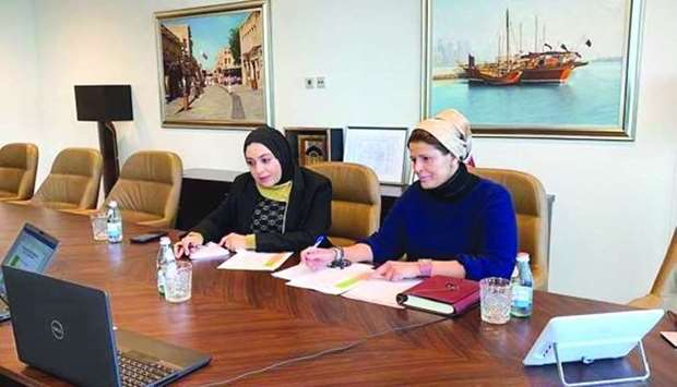 Qatar envoy holds meeting on women's role in political life