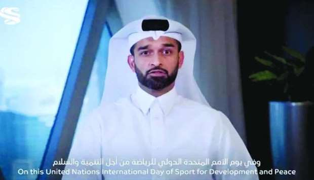 Al-Thawadi: Every day, somewhere on this planet, sport is changing our world for the better.